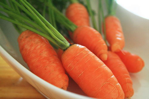 The antioxidant in carrots protects the body from all sorts of different cancers.