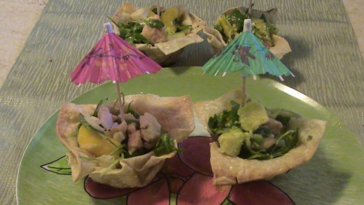 Summer fish recipe