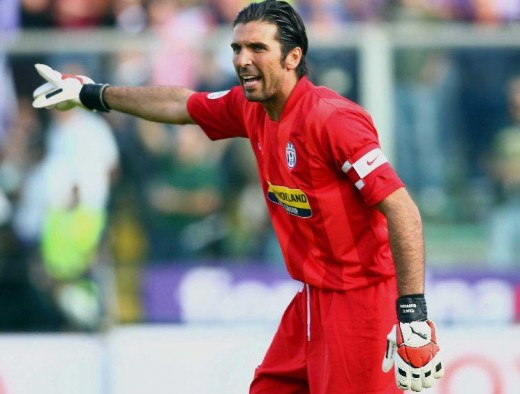 The best goalkeeper in the World: Gigi Buffon.