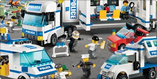 LEGO City Police Scene