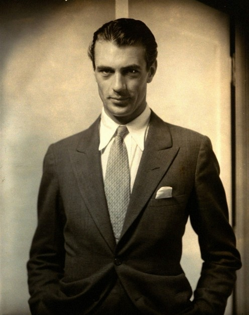 Steichen had a knack for bringing out the mystique in his subjects such as Gary Cooper