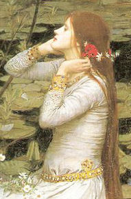public domain ~ copyright expired. See: http://en.wikipedia.org/wiki/File:Ophelia_1894.jpg