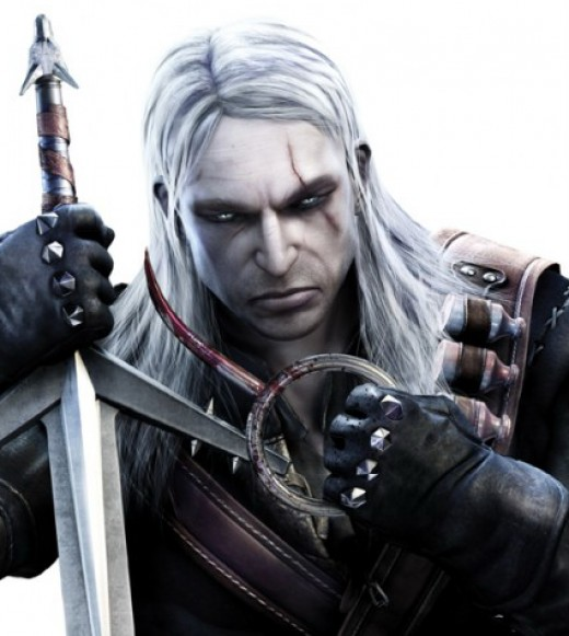 Geralt, he's so darn dreamy.