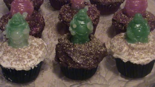 Buddha Cupcakes