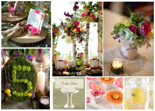 Best Garden Wedding Reception Ideas We love it