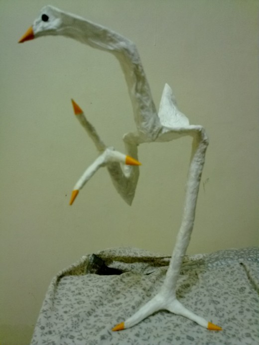 or make an egret like this.