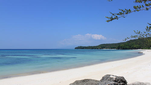 Gumasa Beach in Glan, Sarangani Province