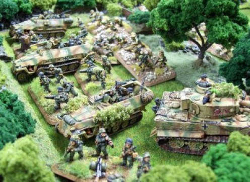 German units from Flames of War