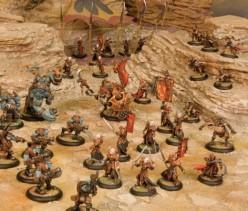 Trollbloods v Skorne from Hordes