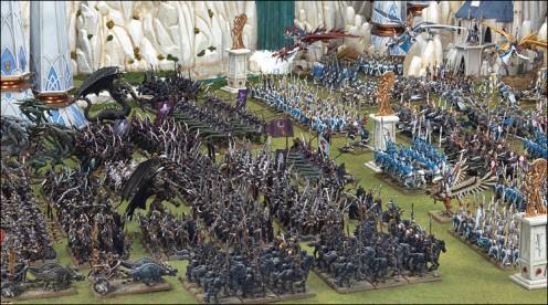 Dark Elves v High Elves from Warhammer Fantasy