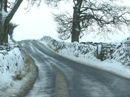 The road to Grassington