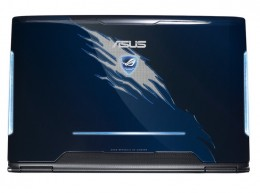 Back View: ASUS Republic of Gamers G51JX-X3 15.6-Inch Gaming Laptop (Blue)