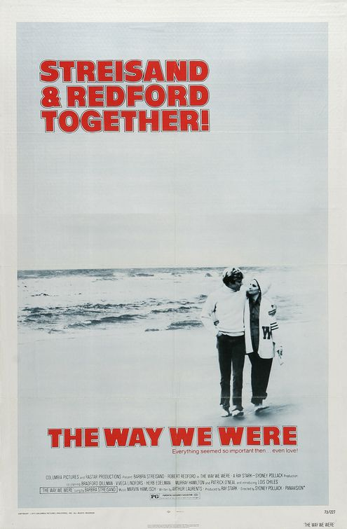 The Way We Were movie poster