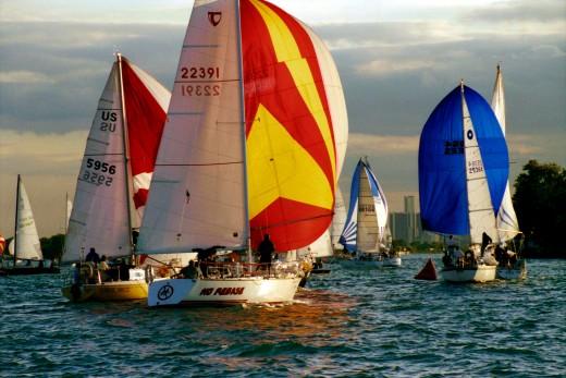 Grosse Pointe Sail Club Tues. Evening Race deedsphoto