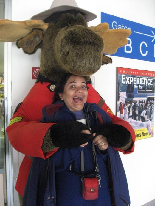 Reshma likes Mountie Moose