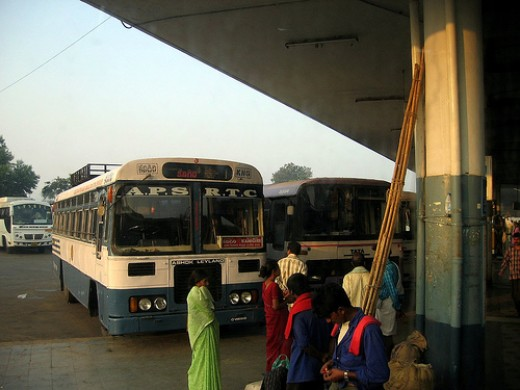 Vijayawada Bus Station, by Kalyan3