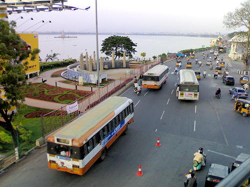 Hyderabad City Traffic, by Prato9x