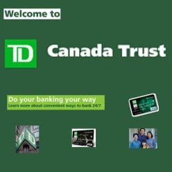 My Toronto Dominion TD Canada Trust Bank Internet Banking Review: EasyWeb, EasyLine