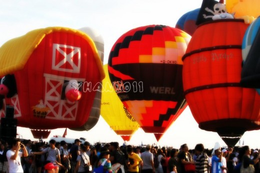 fantastic hot air balloon festivals and rides