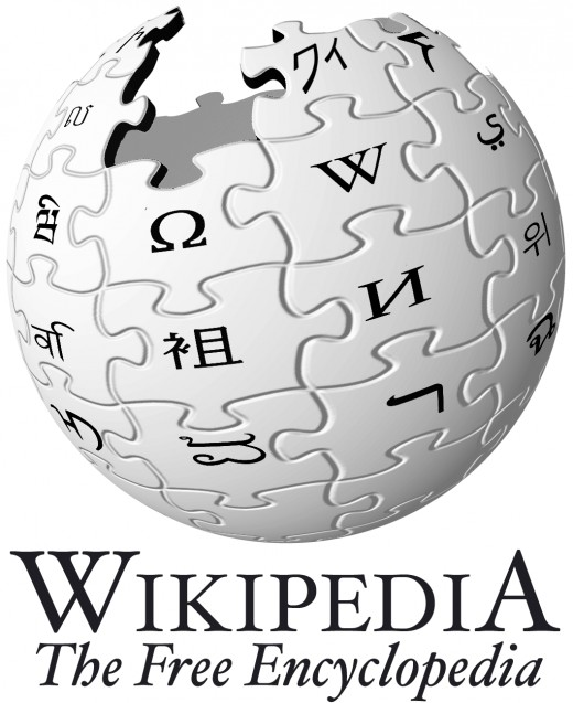 Wikipedia, the free encyclopedia at your feet...