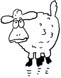Wether - a castrated ram -  (or one who is about to be) - Wouldn't you look like this?