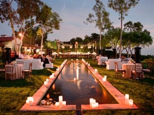 Very Small Backyard Wedding Ideas : Romantic Small Wedding Ideas Photograph  BACK YARD WEDDING