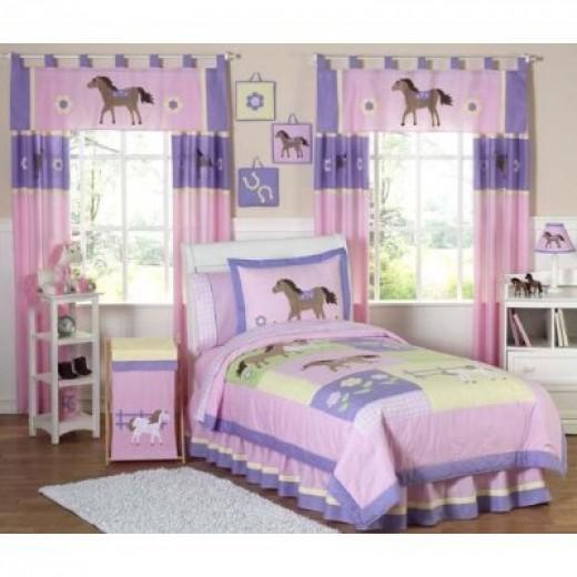 Horse Bedding for Girls
