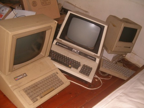 These computers may be old but computer programming is not that different nowadays.