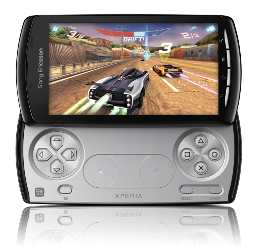 Sony Ericsson Xperia Play (gaming mode)