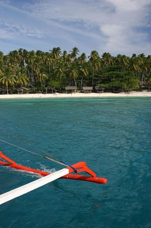 Babu Santa Beach in Talicud, Samal Island, Davao City