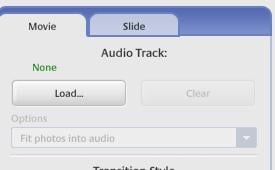 Load Audio Track