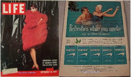 Old Vintage September 26, 1960 LIFE Magazines - Jackie Kennedy - Pat Nixon - Free Nigeria - Vintage Ads