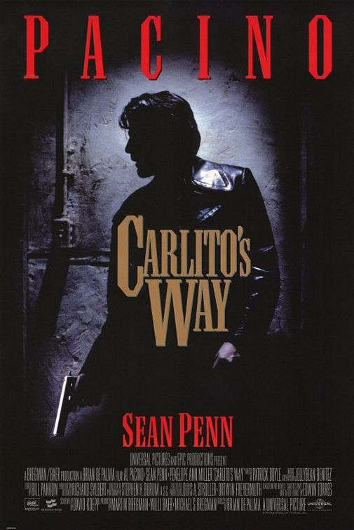 Carlito's Way movie poster