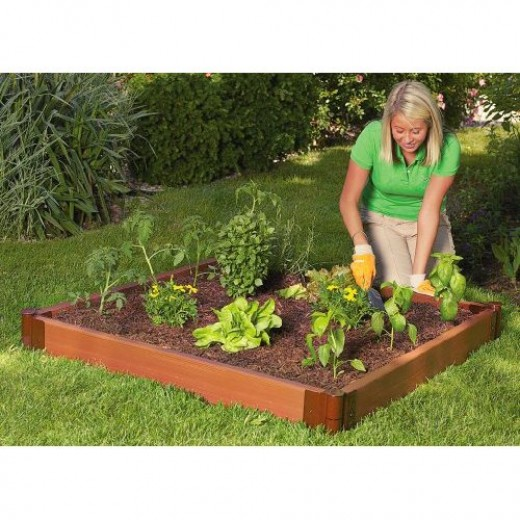 Square foot gardening layout and spacing method tips for Four foot garden blueprint