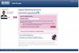 RBS Digital Banking Login