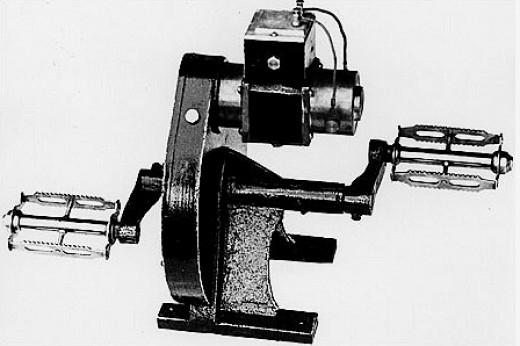 1940s Pedal Radio Power Unit