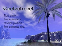 THE KEY OF CONTENTMENT