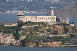 Al Capone was sent to Alcatraz and spent 4 1/2 years there