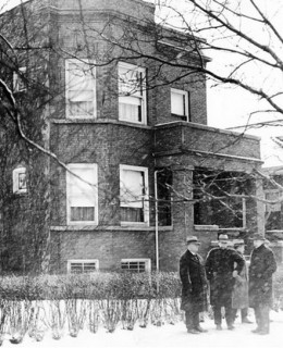 Capone's home in Chicago