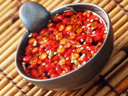 Hot chillies help disperse body heat in tropical climates. Image:  fkruger - Fotolia.com