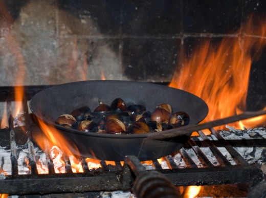 Chestnuts - perfect winter food. Image:  lolloj|Shutterstock.com