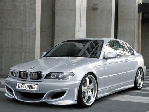 tuning bmw e46. 2547 BMW E46 Front bumper
