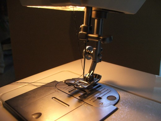 Pressor feet on just one type of sewing machine accessory available.