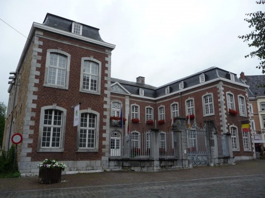 The Ostkantone's seat of government, Eupen