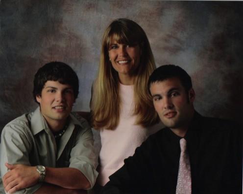 Michael, Mom, Andy