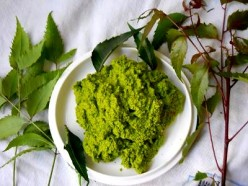 Neem Paste as a poultice for local application