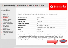 Santander Credit Card >> My Banco Santander UK Online Banking Review 2011 | hubpages