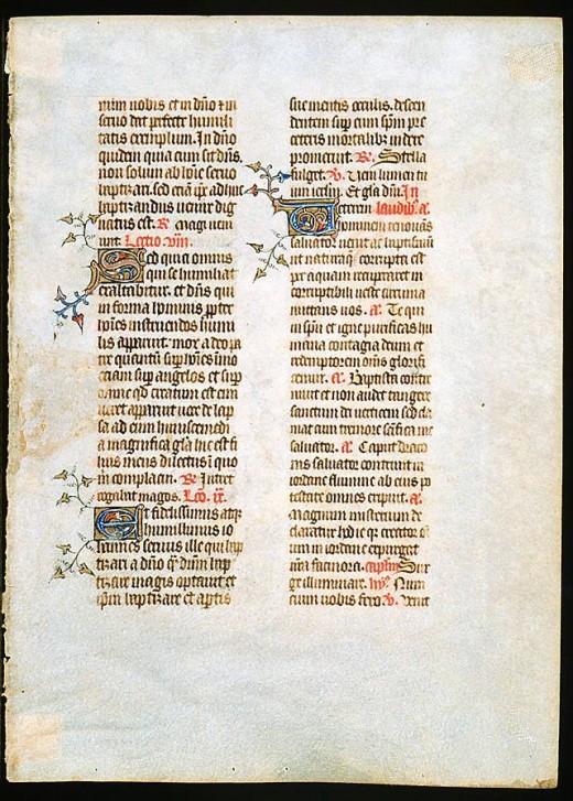 14th Century Script