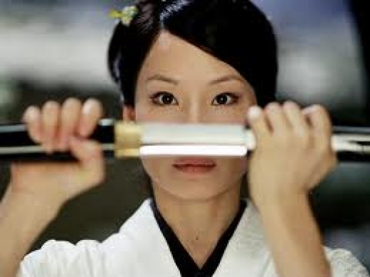 Lucy Liu as O-ren Ishi in 'Kill Bill'