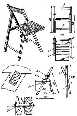 Woodworking Folding Chair Plans